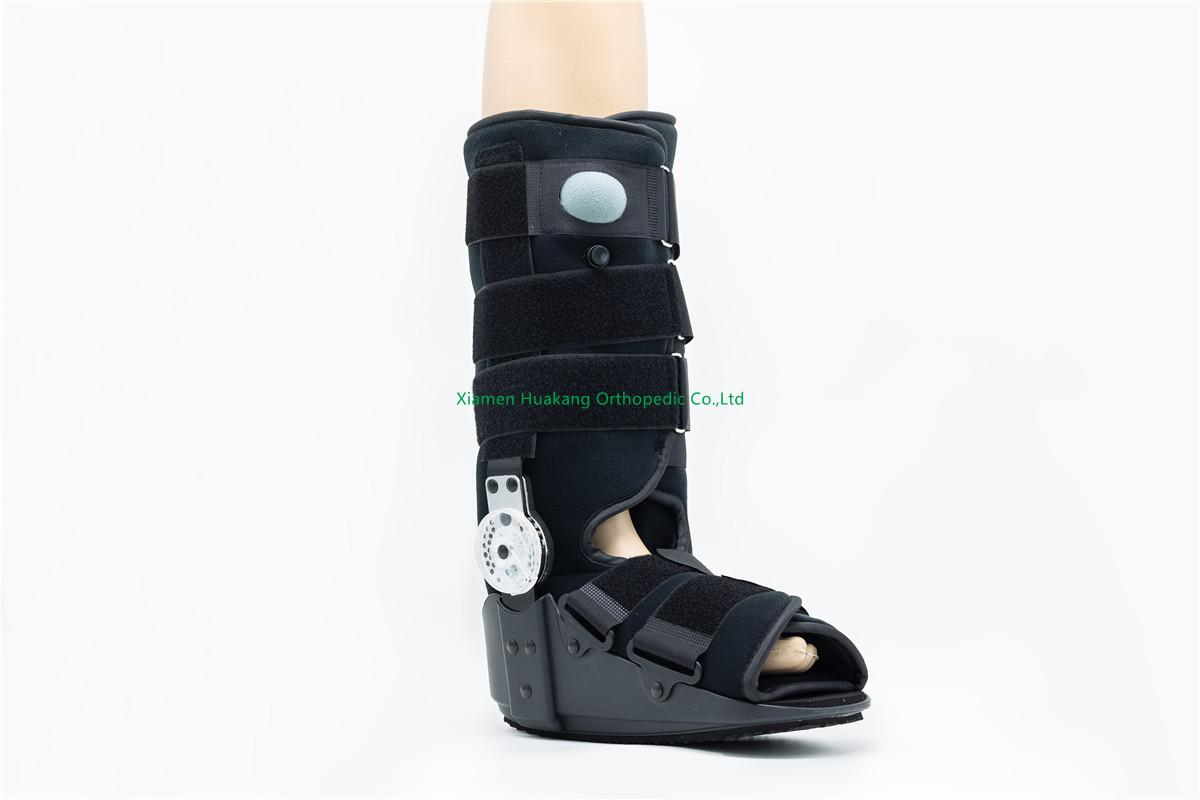 PNEUMATIC rom hinged walking boot for achilles tendonitis