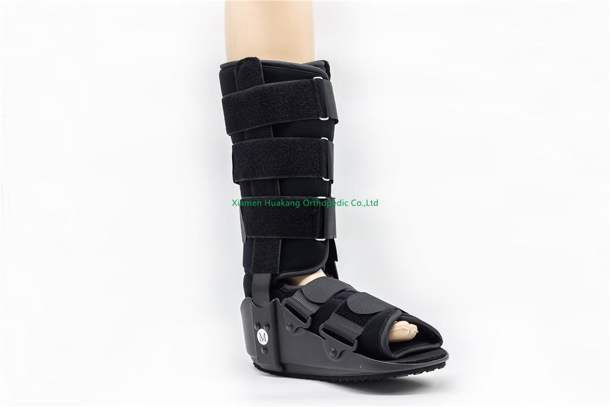 11 or 17 inches velcro walking boot for broken foot