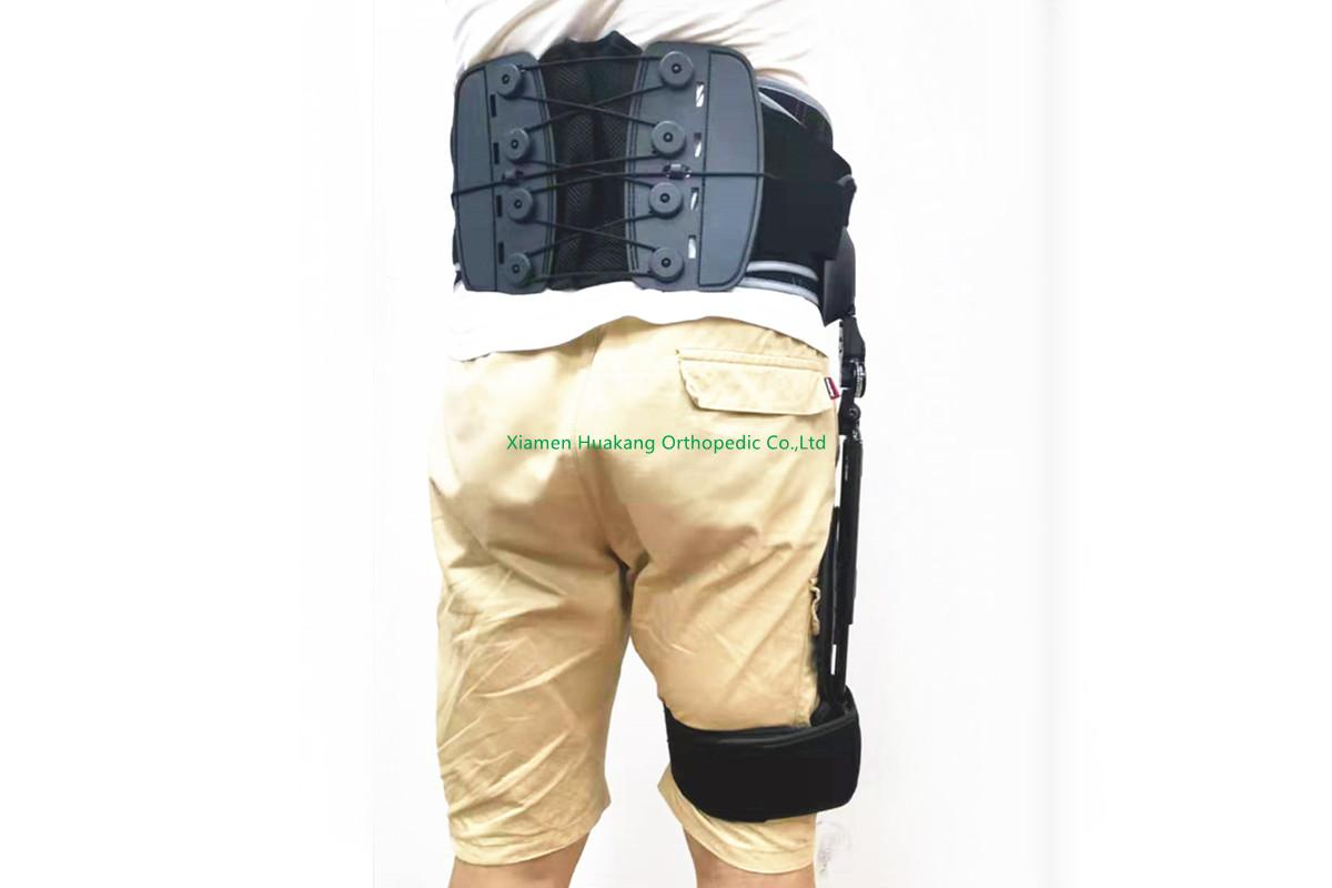 Thigh hip immobilizer braces orthosis