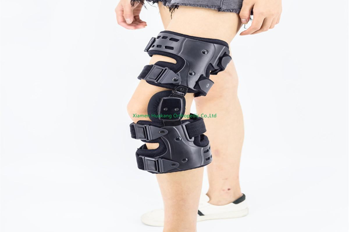 Osteoarthritis ROM knee wraps immobilizers