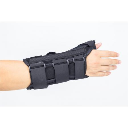 Hand wrist braces with thumb spica finger splints