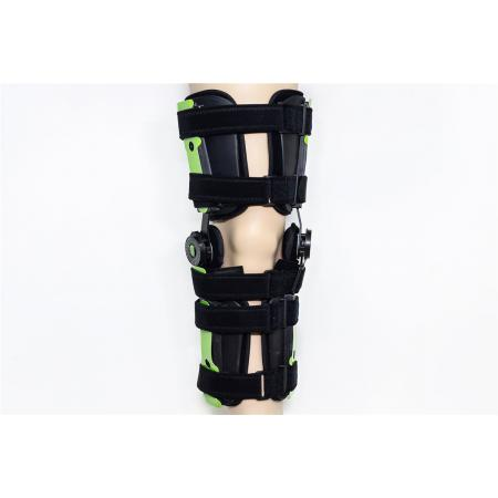 Lower limbs hinged  knee  immobilizer braces