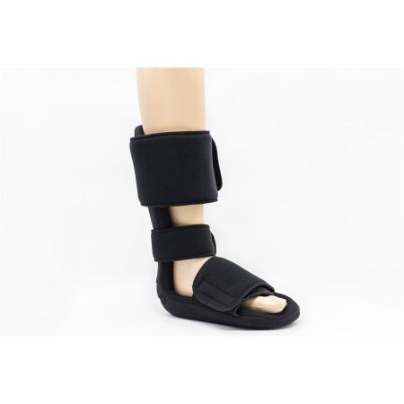 Medical 90 degree night splint heel foot pads for plasntar flexion